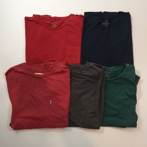 American Eagle / Levi's One Pocket T-Shirt BUNDLE